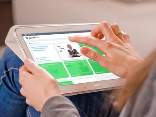 blink.it Online-Kurs: Beispiel Demo aus Sicht des Trainers