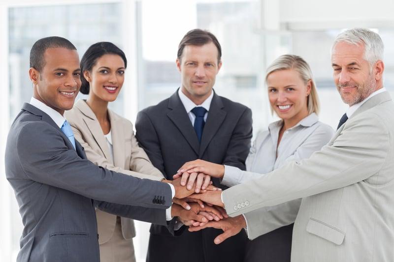 Führungskräfte von heute begegnen Mitarbeitern auf Augenhöhe.