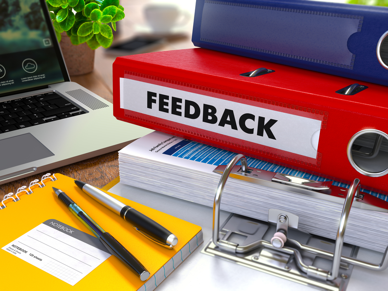 Umsetzung von Feedback und Kritik ist wesentlich zur Optimierung des Blended Learning