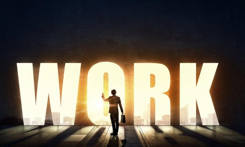 Symbolbild: Zukunft der Arbeit, New Work
