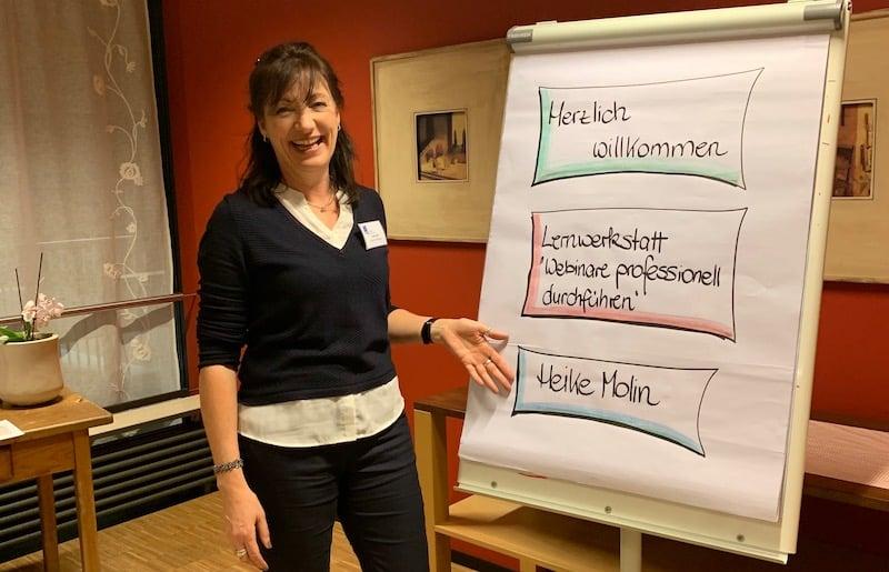 Live-Online-Trainerin Heike Molin stellt sich vor