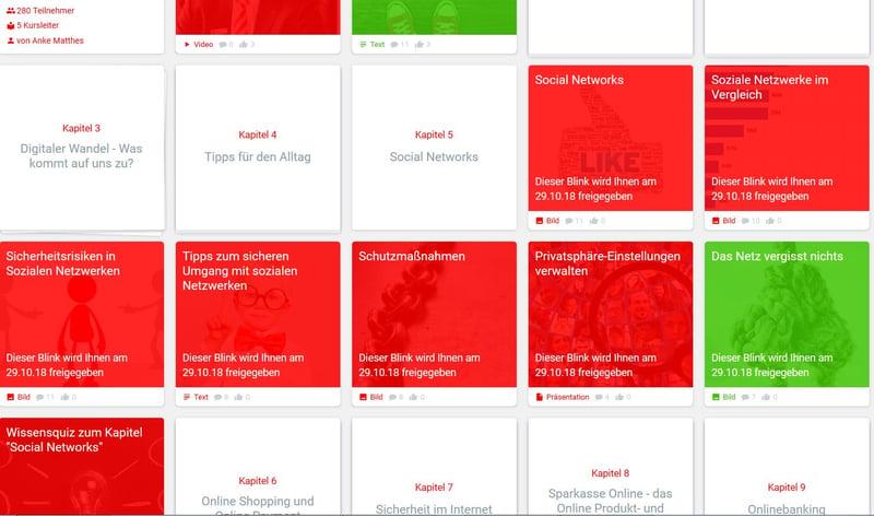 """Einblick in den """"Digitalen Führerschein"""" der Nord-Ostdeutschen Sparkassenakademie bei blink.it"""