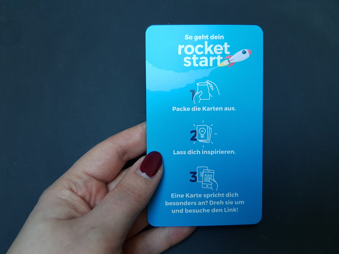 Kurzanleitung Beispiel rocketpack