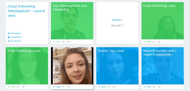 blink.it im Team nutzen: Videotagebuch von Laura und Jessi