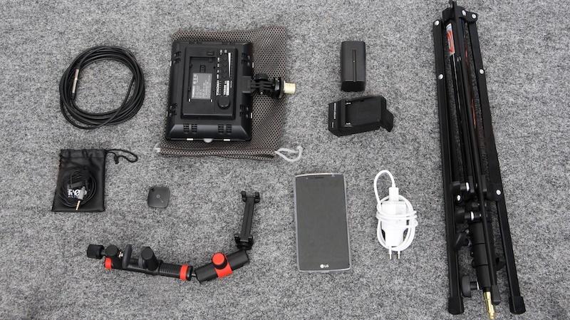 blink.it kit. günstige Video-Ausrüstung für das Filmen mit dem Handy / Smartphone