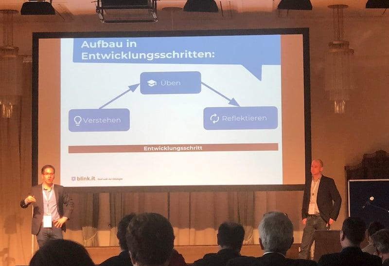 Michael Witzke und Hans-Martin Sprungk auf den Petersberger Trainertagen