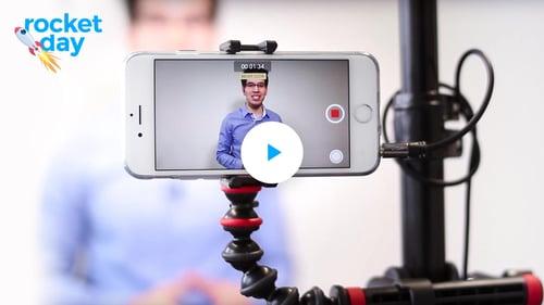 Der Rocketday: Der Workshop zum Videodreh für Online-Kurse
