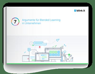 7 Argumente fuer Blended Learning in Unternehmen