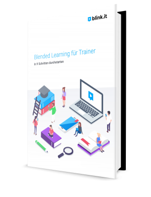Blended Learning fuer Trainer in 9 Schritten Cover-1