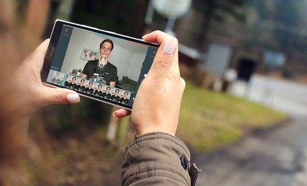 FilmoraGo am Smartphone - Online-Kurs und Tutorial zum Videos schneiden am Smartphone mit blinkit