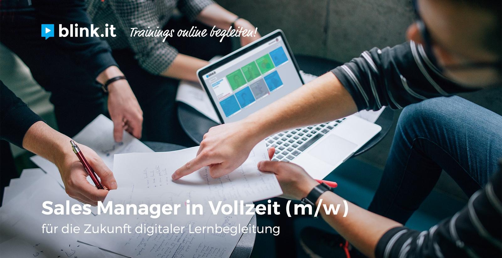 Sales Manager in Vollzeit (m/w)