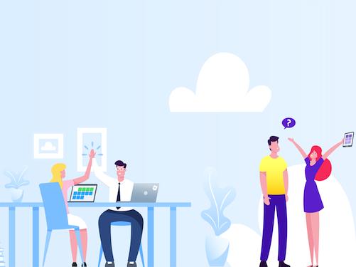 Schaubild: E-Learning für Unternehmen (blinkit)