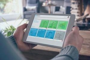 Ein Beispielkurs für einen Online-Kurs im Blended Learning – Ansicht am Tablet