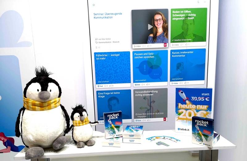 blink.it: LearnTec 2020: Pinguine, Blended Learning und häufige Fragen