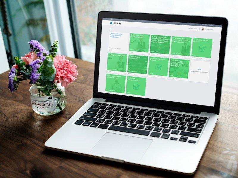 blink.it testen: E-Learning Beispielkurs